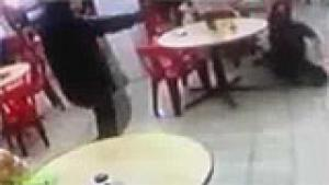 Fast food outlet assassination