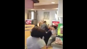 McDonald's Employee Brutally Attacked