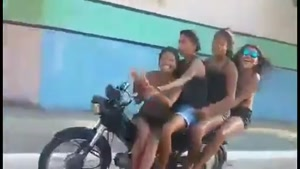 Motorcycle Idiots Taught Painful Lesson