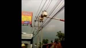 Man electrocuted