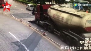 Run Over By Truck